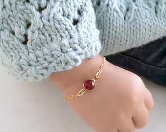 baby bracelet baptism bracelet christening bracelet 14k gold filled baby jewelry personalized birthstone bracelet new baby gift new mom gift