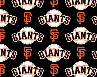 San Francisco Giants Fabric MLB Baseball Fabric 58