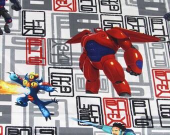 Disney Movie Big Hero 6 Character Toss Fabric From Springs Creative