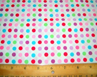 Multi Color Dot Fabric From Springs Creative