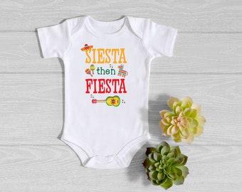 Cinco De Mayo Birthday Outfit Baby Bodysuit I/'m Uno Let/'s Fiesta Onesie\u00ae