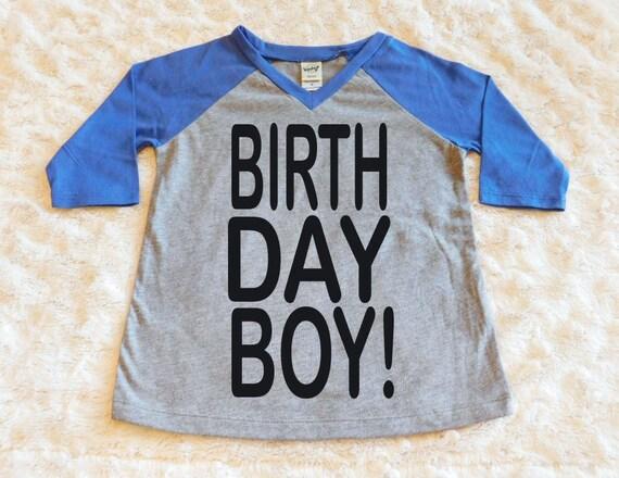 Birthday Boy Kids Shirt Hipster