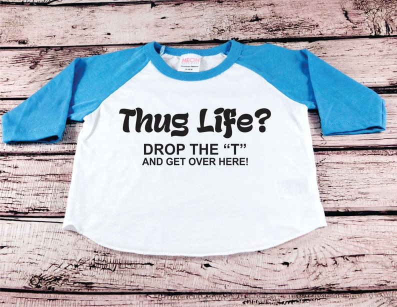 dea2ee66ab4 Baby Boy Clothes Thug Life Hugs Cool Kid hipster kid shirt