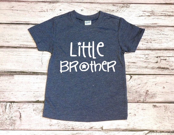 Little Brother Shirt Big Brother Shirt Sibling Shirt Brother Etsy