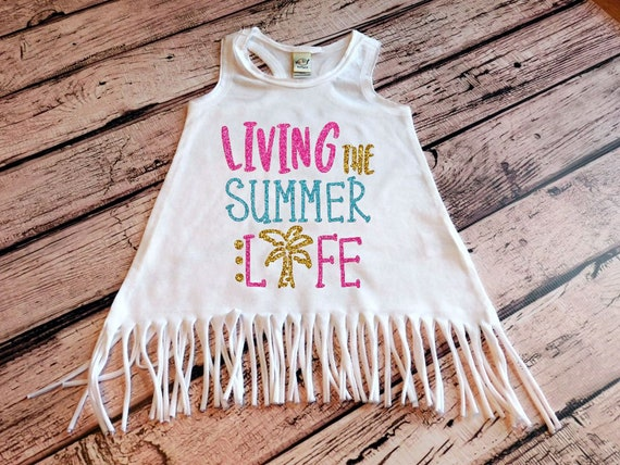 ed700d356f Summer Life Fringe Dress Beach Cover Up Baby Girl Clothes