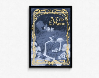 A Trip to the Moon Movie Poster