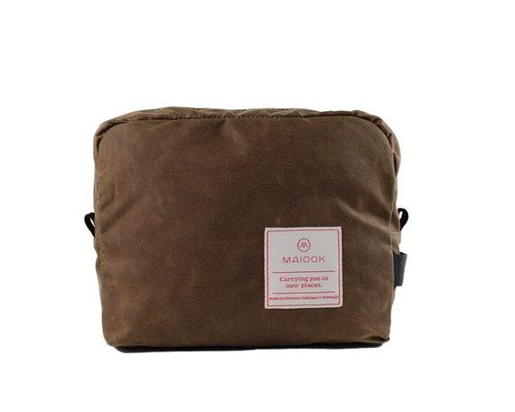 Wax Canvas Dopp Kit Mens Toiletry Bag Canvas Travel Bag  8fa49ea444dfd