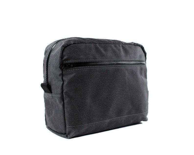 346e0ae873 Travel Dopp Kit Mens Toiletry Bag Wax Canvas Dopp Kit