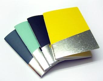 Silver notebook