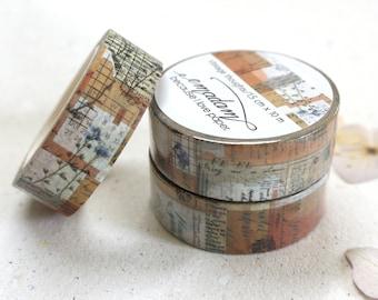 0,60 EUR per m / Washi Tape, Decoration tape, Washitape - Vintage Thoughts