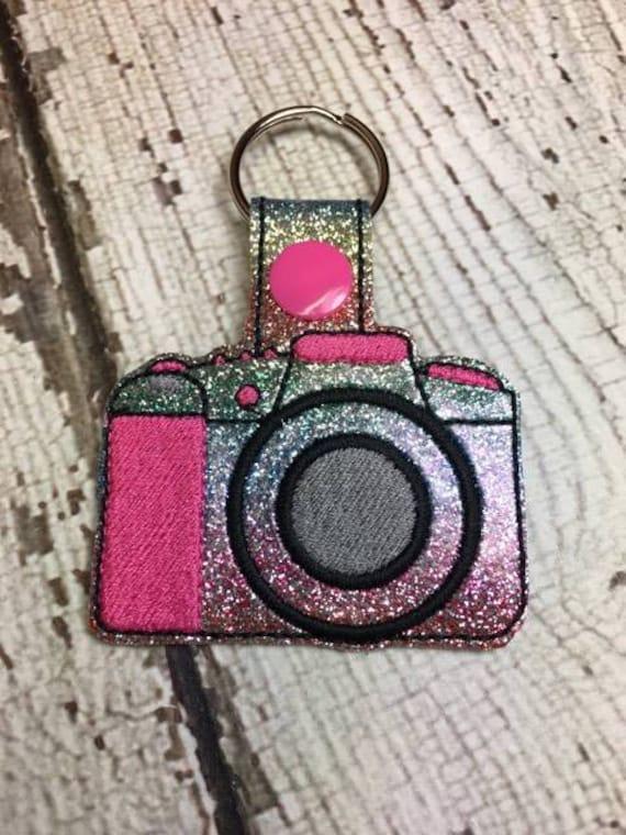 Appareil photo photographie porte cl mousqueton rivet etsy - Porte cle photo numerique ...