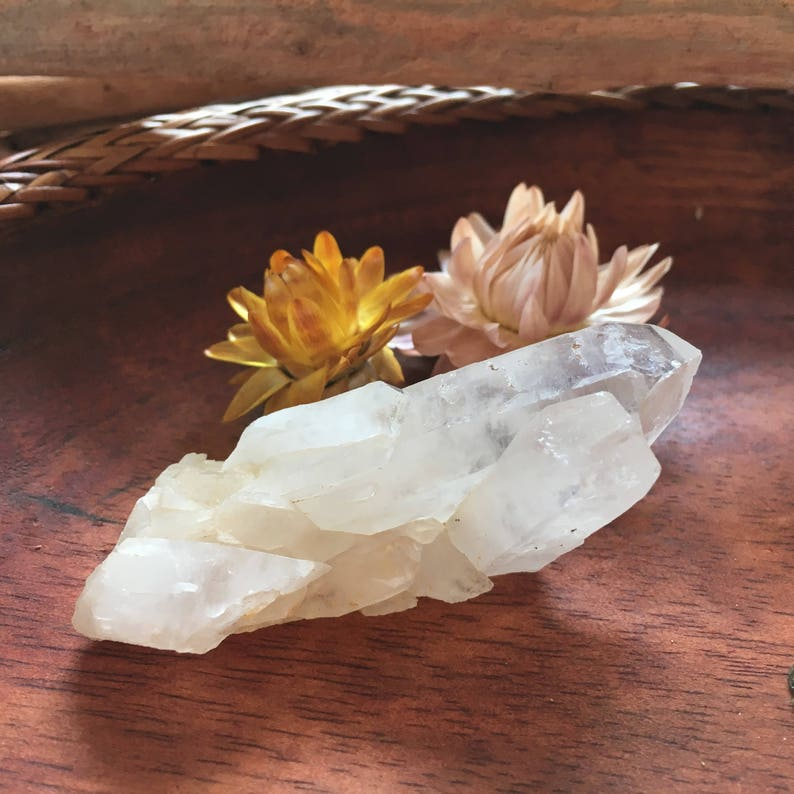 Quartz Crystal point for reiki and crystal healing space image 0