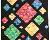 Digital Quilt Pattern quot Scatterpatch quot made from Charm Packs, Fat Quarters or Scraps