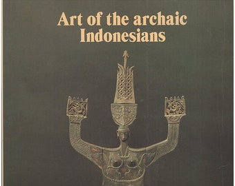 Art of the Archaic Indonesians. Catalog for traveling exhibition. Illustrated. Statement about the show by Brooklyn Museum director. (28469)
