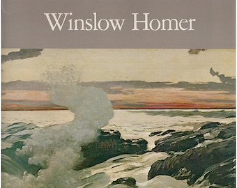 Winslow Homer by Lloyd Goodrich. Exhibition catalog (Whitney, LACMA, Art Institute of Chicago). Illustrated in B/W and color. (27613)