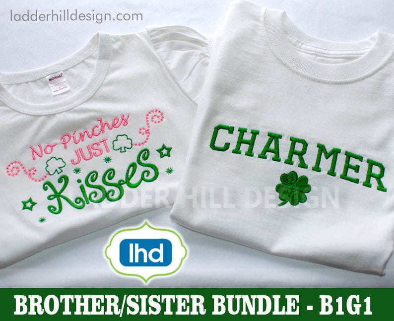 BOGO FREE  No Pinches Just Kisses St. Patrick's Day image 0