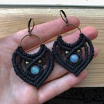 Macrame Earrings Held for Ashley
