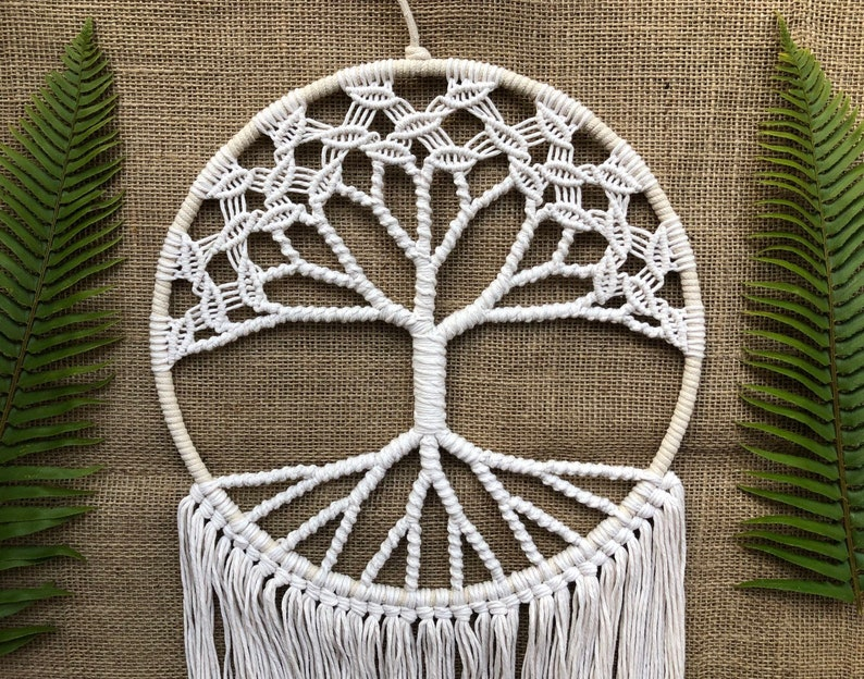 Original World Tree on 12 Hoop White Tree of Life image 0