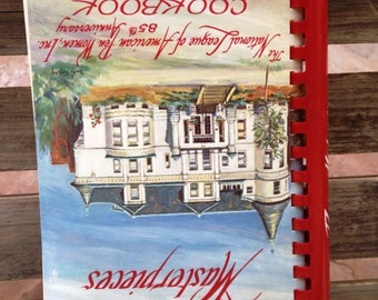 Cookbook - 1982 The National League of American Pen Women Cookbook - 85th Anniversary - Recipe Masterpieces