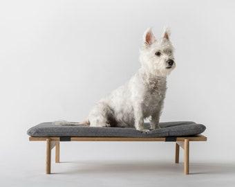 Walden Dog Bed // White-Oak