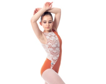 Made to Order - Alke Style Leotard with Lace Overlay