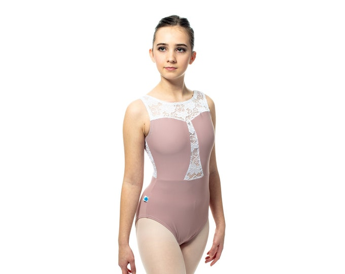 Made to Order - Element Style Leotard (solid with lace accent)