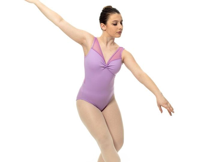 Made to Order - Hannah Style Leotard (solid with lace accent)