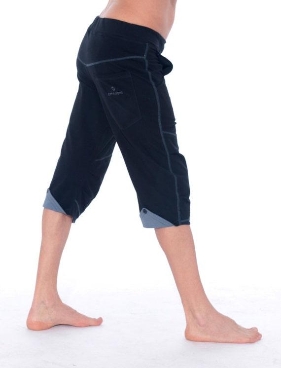 Pantalon de Yoga pour homme Short pour homme noir Mens  3d37efcebfb