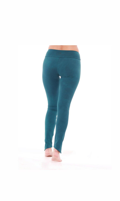 Yoga Leggings Cotton Yoga Pants Blue Leggings Women Etsy