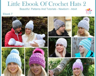 Crochet patterns hat patterns blanket by kerryjaynedesigns on etsy crochet hat pattern ebook includes sizes newborn adult easy step by step photo tutorials baby toddler child teen adult s m l xl fandeluxe Gallery
