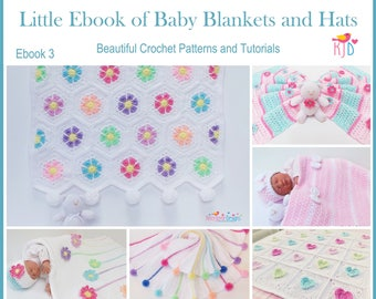 Crochet patterns hat patterns blanket by kerryjaynedesigns on etsy blanket and hats ebook crochet patterns and tutorials 6 beautiful baby blankets and 4 baby hat patterns sizes from newborn 10 years fandeluxe Choice Image