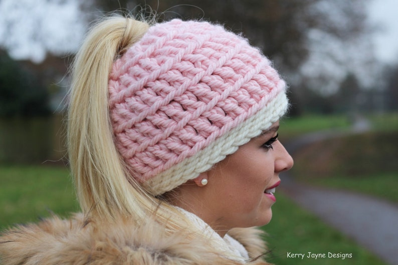 Messy Bun hat pattern  Love it  Messy Bun Hat  f1a8a75784e5