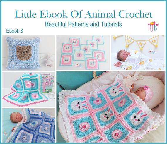 Little Ebook Of Animal Crochet Patterns 6 Beautiful Baby Etsy
