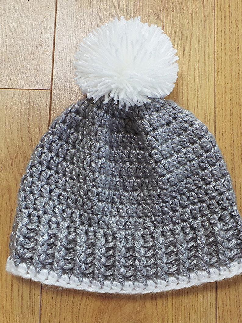 6428ce57f40 Hat and Scarf crochet pattern Pom pom hat pattern Bobble hat