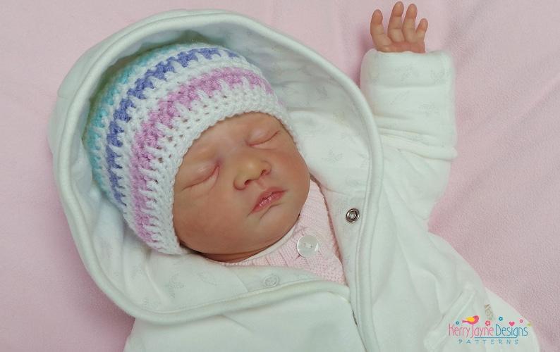 0219e522df5 CROCHET HAT PATTERN Ice Cream Baby hat Pattern Baby Hat