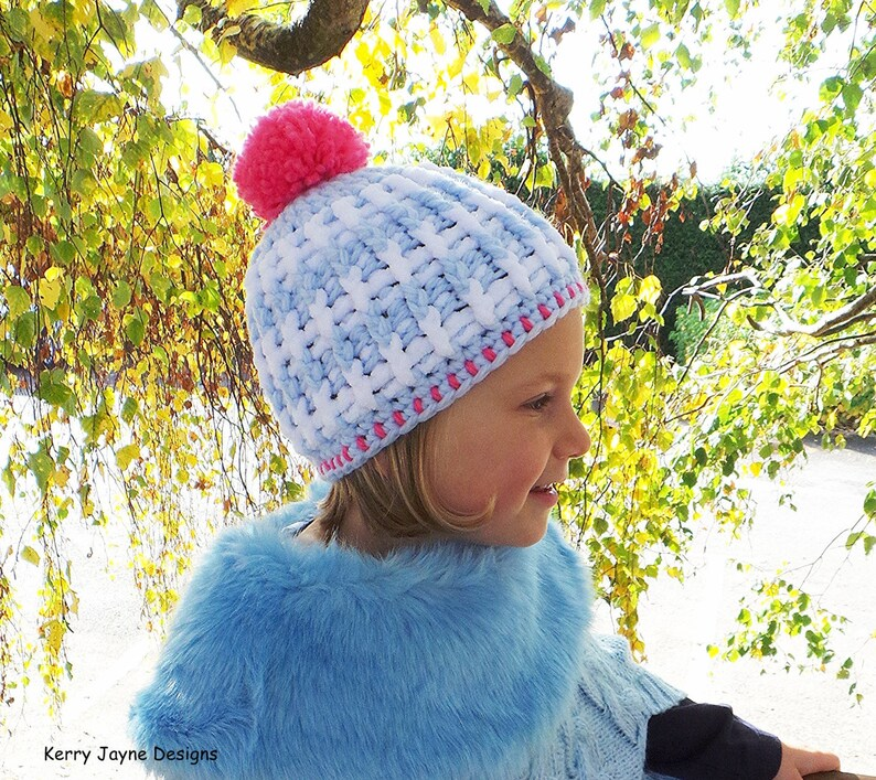 a2feb2fd34e CROCHET PATTERN The Nordic Ridge Beanie Crochet Hat