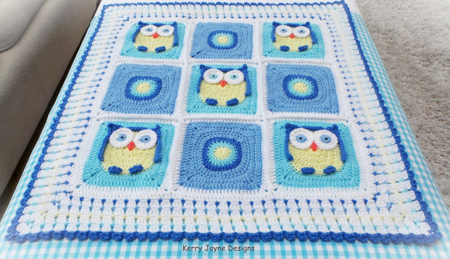 Old Fashioned Crochet Owl Pattern Blanket Image Collection - Great ...