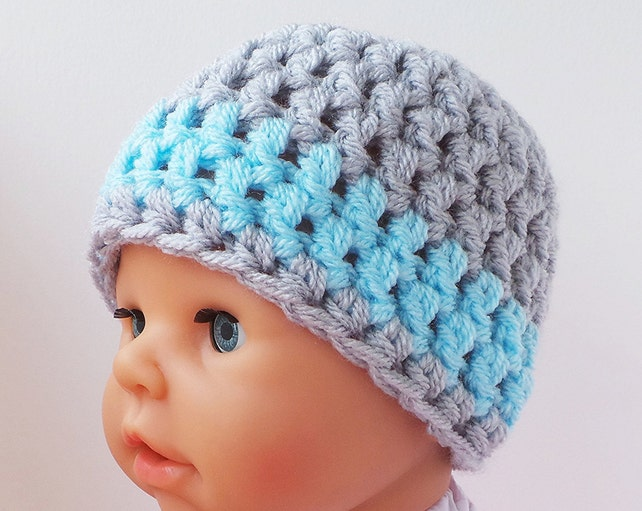 How to crochet crochet hat pattern with photo tutorial Baby  ed337edf17b