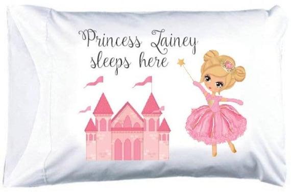 Pc18 Blonde Princess Pillowcase FREE