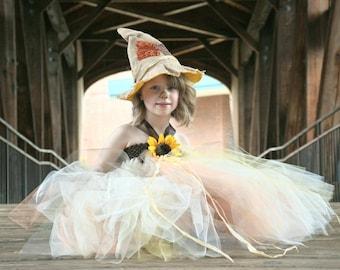 Fall In Love Scarecrow tutu dress