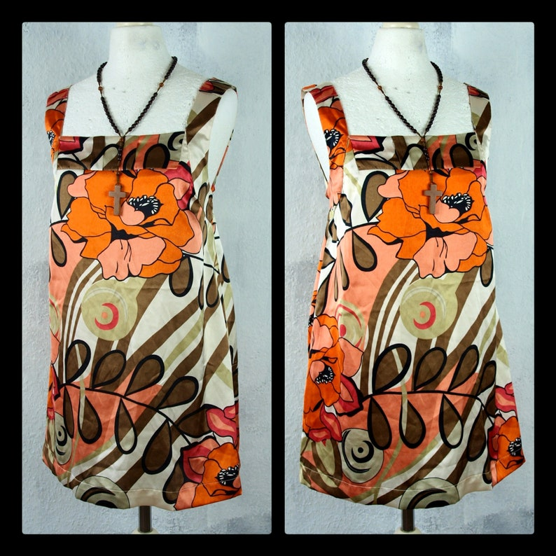 M Tunic Boho Hanger Hippie Vintage Upcycling Second Hand