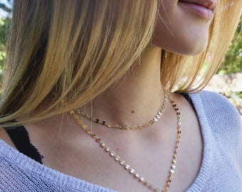 Coin Lariat Necklace, Lariat Y Necklace, Dainty Layered Necklace, Y Necklace Gold, Delicate Jewelry