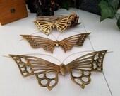 Solid Brass Butterflies Set of 3 Wall Hanging Butterflies