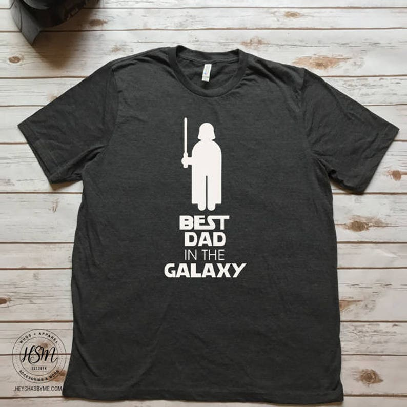 8f1c74a5 Best Dad In The Galaxy Tee Dad Tee Father's Day Gift | Etsy