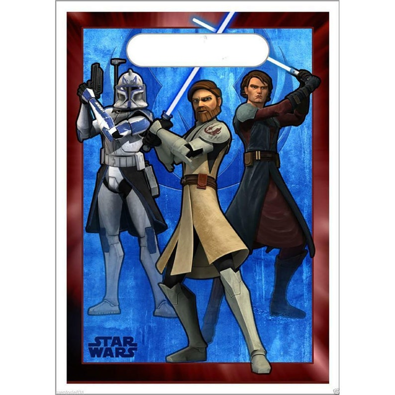 Star Wars The Clone Wars Lunch Napkins