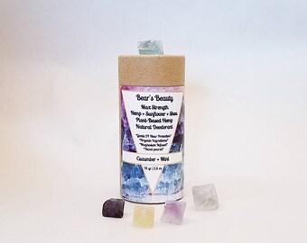 Original Natural Deodorant No19 2.5 oz, 12 + Hours, Choice of Tube, Vegan Coconut Free Clay Deodorant, Aluminum Free Deodorant,Hormone Safe