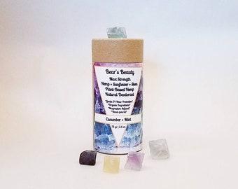 Sensitive Natural Deodorant No27 2.5 oz, 12 Hours Hormone Friendly, Coconut Free Deodorant, Acne Friendly, Magnesium, Baking Soda Free