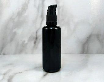 Lavender + Geranium Balancing Cleansing + Facial Oil 50mL, Gentle Makeup Remover, Liquid Cold Cream