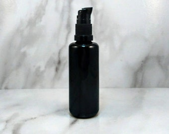 Organic Hemp Seed Oil 50mL, DIY Hemp Serum, Cold-Pressed Hemp Seed Oil in Violet Glass, Cannabis Sativa Seed Oil