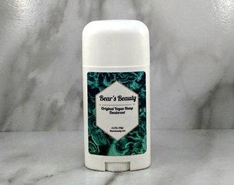 Lavender + Tea Tree Original Hemp Natural Deodorant 2.5oz | Vegan Hemp Deodorant | Essential Oil Deodorant | 8 Hour Natural Deodorant